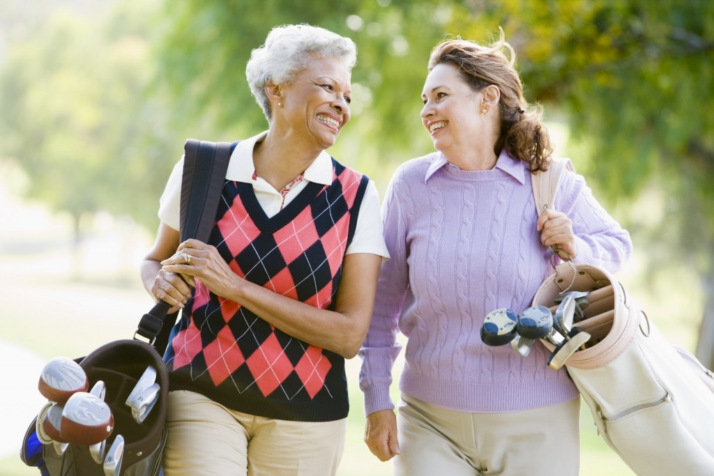 Ladies golf day at the lifestyle village